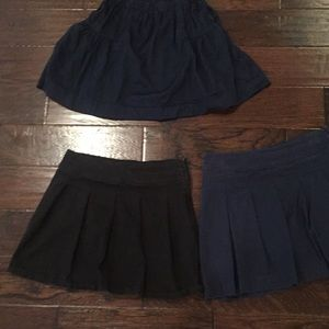 3 Uniform Skirts Bundle @ $7